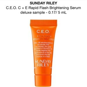 SUNDAY RILEY C.E.O. RAPID FLASH BRIGHTENING SERUM